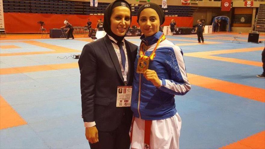 Irán gana dos medallas de oro en Mundial de Karate de España