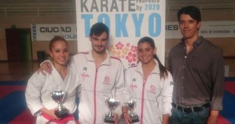 La nueva temporada deportiva de Karate dio comienzo con la celebración de la Copa de Extremadura de karate