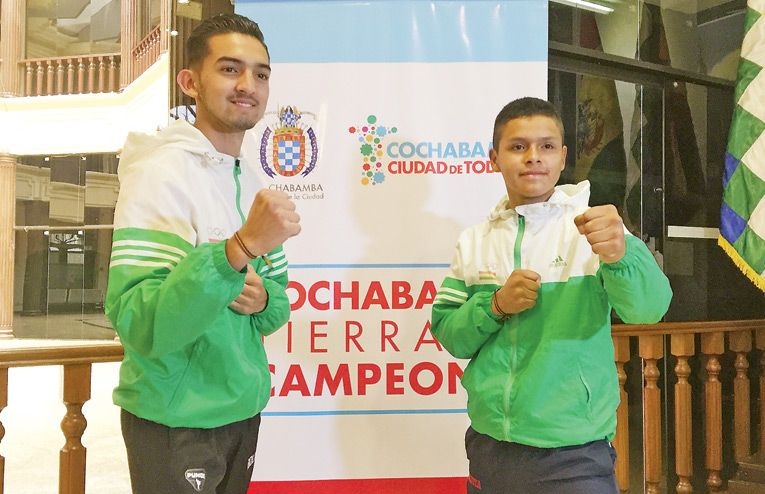Luis Saavedra y André Quezada