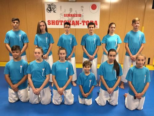 Shotokan Tora acude el sábado a dos competiciones