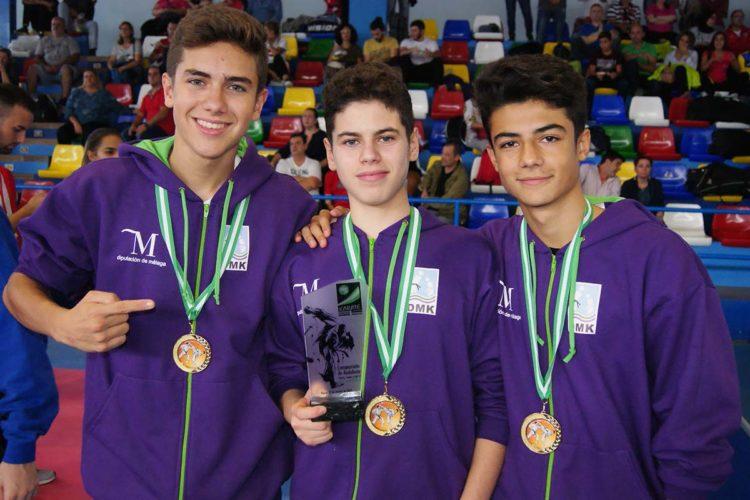 Tres jóvenes karatecas del Club Bushido de Ronda logran el primer puesto en el Campeonato de Andalucía 0 (0)
