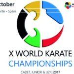 Mundial Cadete, Júnior y Sub 21 WKF