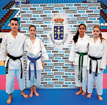 El Akai Ryu de Negreira tendrá a cuatro de sus deportistas en Santiago