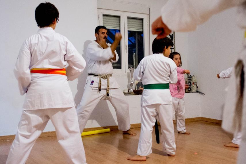 El sensei que 'lucha' por crear el primer dojo adaptado en Jerez
