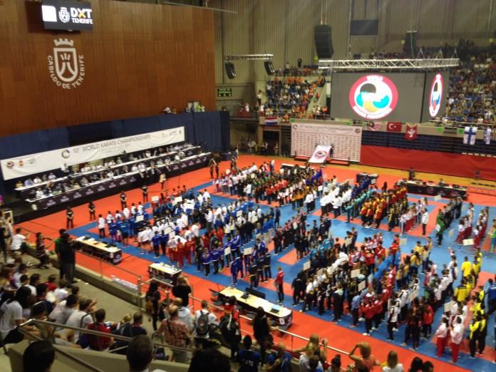 Dos bronces completan el medallero de España en el Mundial de Karate de Tenerife