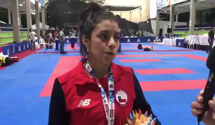 Carolina Videla le entregó el primer oro al karate chileno en los Juegos Bolivarianos 0 (0)