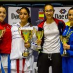 Celia Álvarez, en la élite del karate nacional