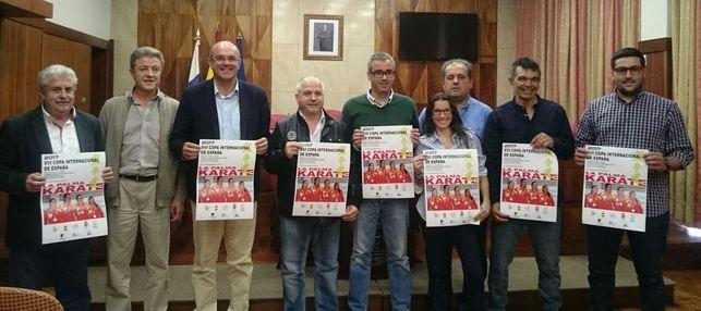 La Palma acoge la XVI Copa Internacional de España de kárate 0 (0)