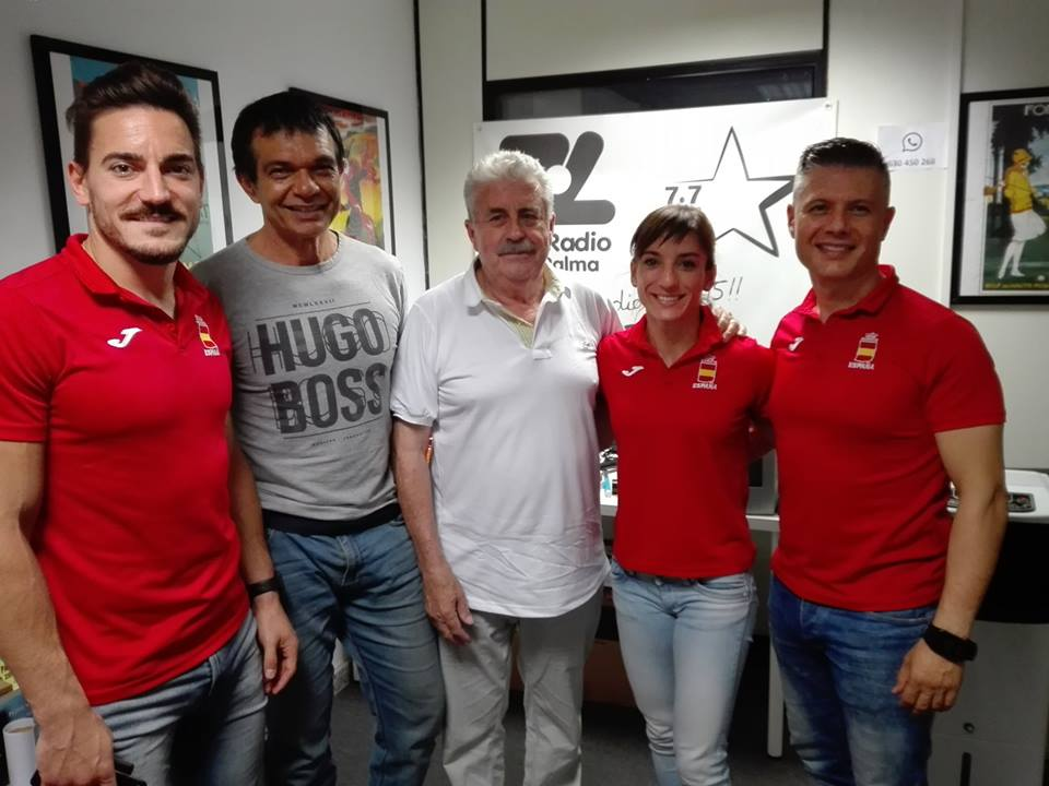 Sandra Sánchez, Damian Quintero, Jesús del Moral Y José Pérez