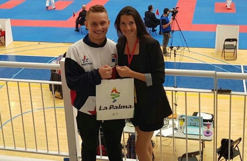Cención quedó sexto puesto en la Copa España de Karate