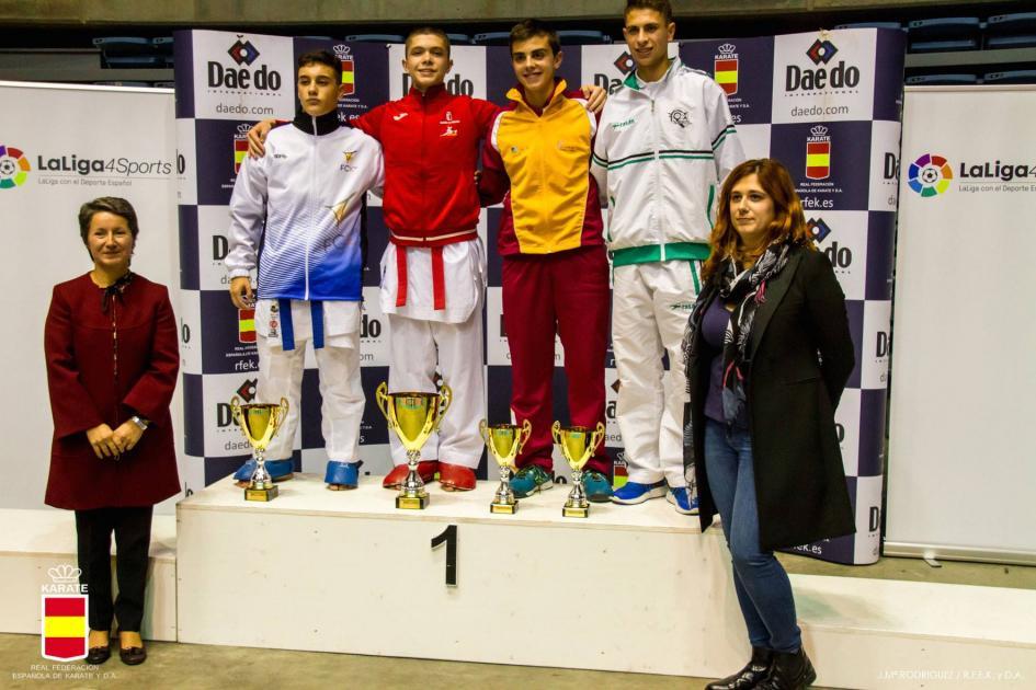 Los karatekas del Budokan De Valladolid consiguen 3 bronces en el Campeonato De España Cadete, Júnior Y Sub21 0 (0)