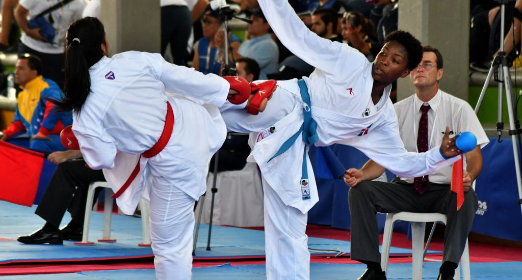 Ogando gana plata; Pérez, Andújar y Castillo, bronce en karate Juegos Bolivarianos