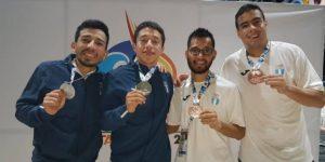 Karatecas guatemaltecos en Bolivarianos