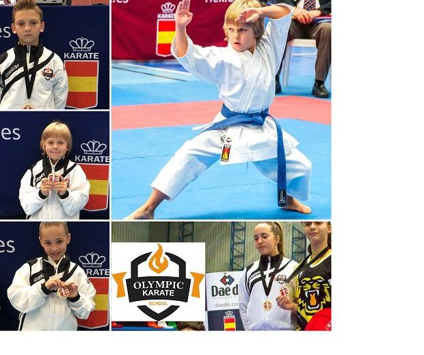 Olympic Karate Marbella se consolida dentro del Top 5 de las mejores Escuelas de España