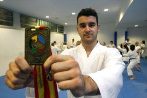 Marcos Martínez logró la medalla de bronce en el Campeonato mundial de Tenerife