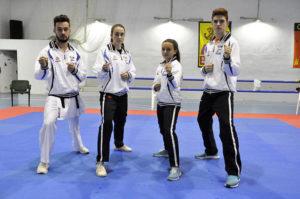 Cinco representantes del Ni Sente Nashi de l'Eliana compiten en Santiago