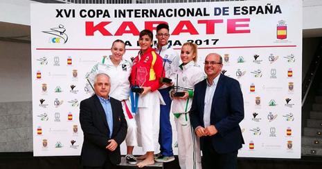 Nuria Escudero, bronce en la Copa de España 2017