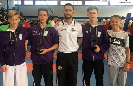 Sabrina Medero y Diego Ponce de Olympic Karate logran un segundo y tercer puesto en el Campeonato de España 0 (0)