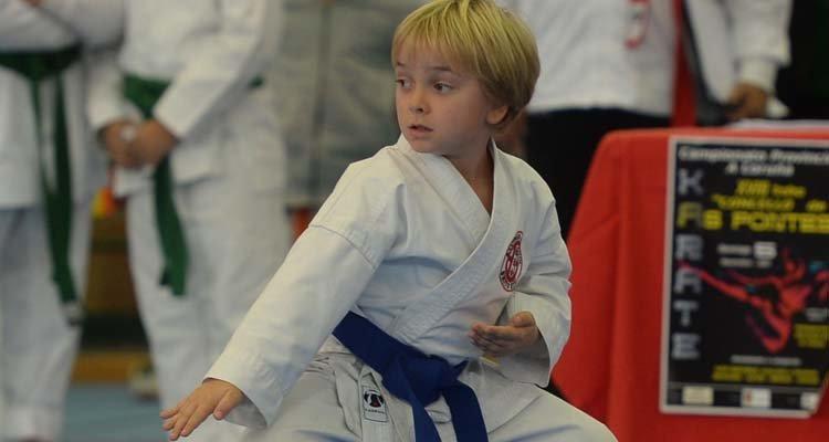 Pabellón de As Pontes campeonato de Karate