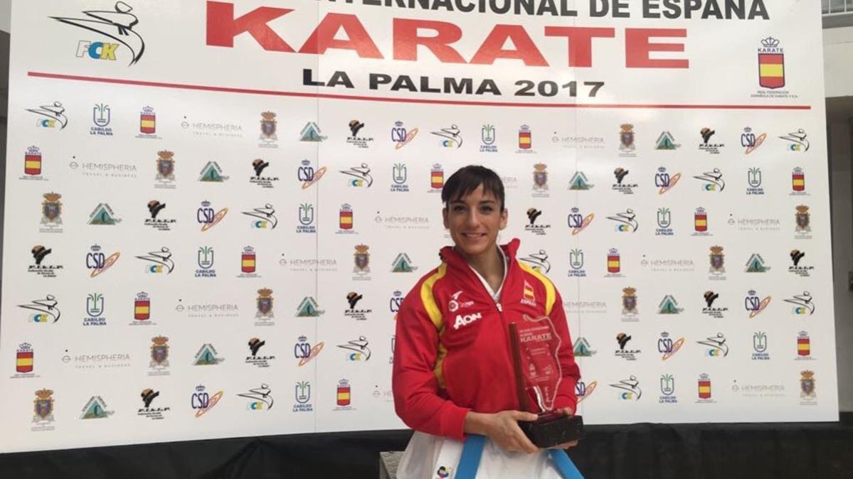 Sandra Sánchez, intratable, arrasó en la Copa Internacional de kárate de España 0 (0)
