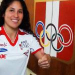 Alexandra Grande recibe la beca olímpica