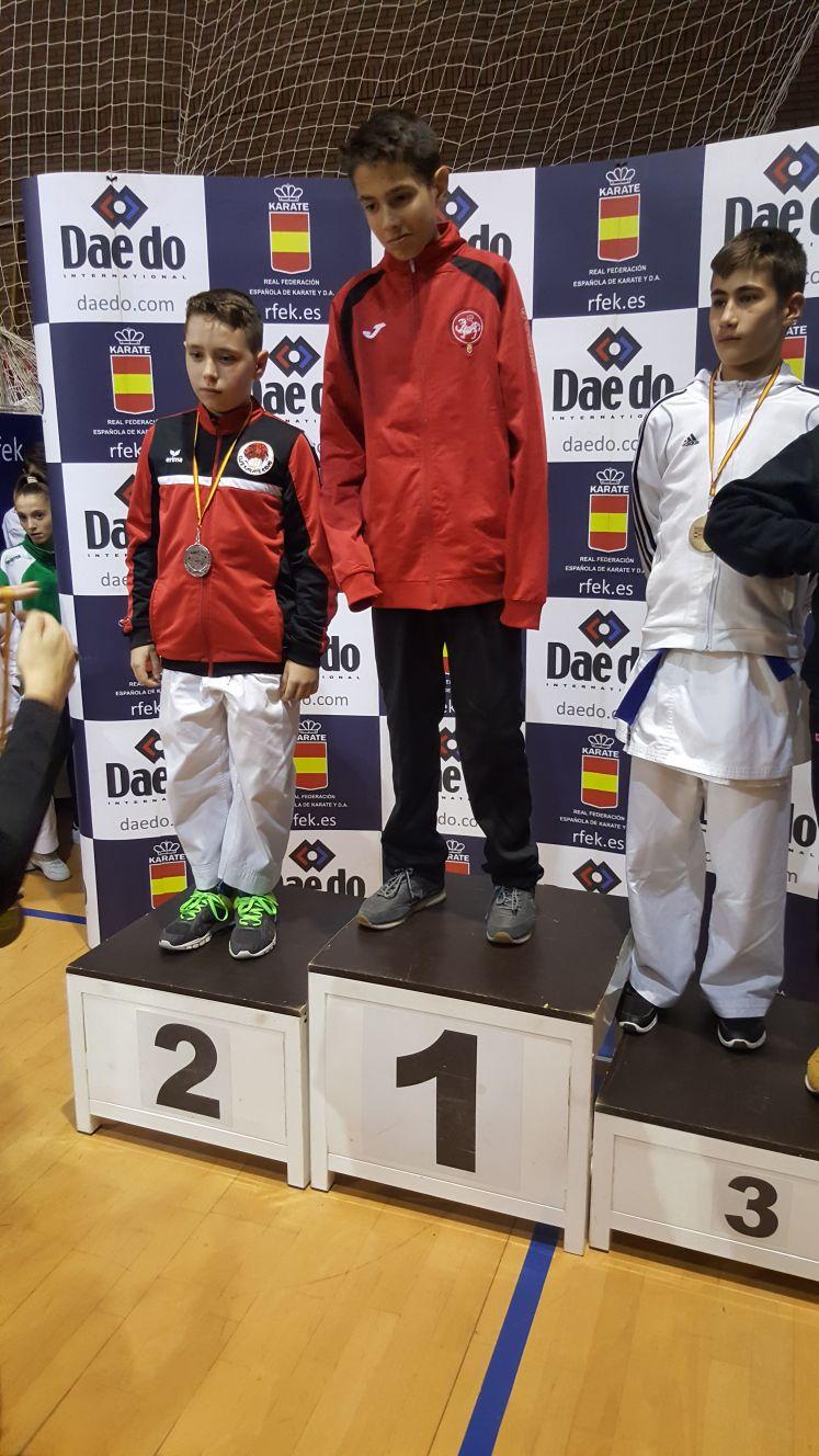 Julián San José se consolida como el mejor karateca nacional de su categoría