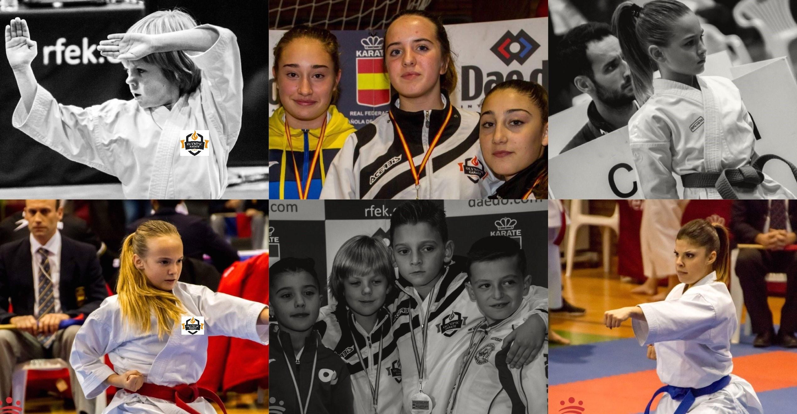 Olympic Karate Marbella se trae siete medallas de la Final de la Liga nacional