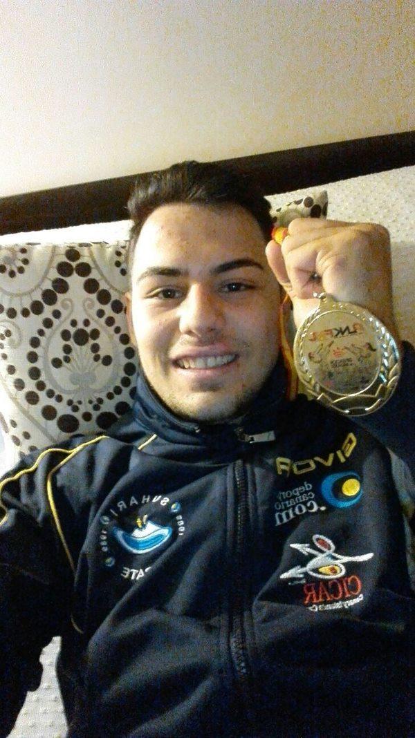 Un joven de la Escuela Municipal de Kárate de Tías se proclama subcampeón de España