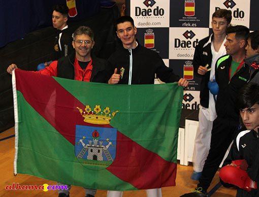 Silverio Gálvez medalla nacional de karate