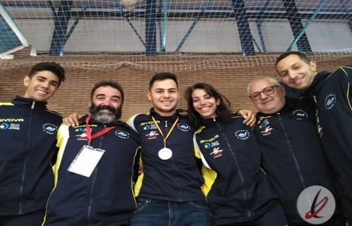 Raúl Fajardo se proclama subcampeón de liga sub21 de karate en Badajoz