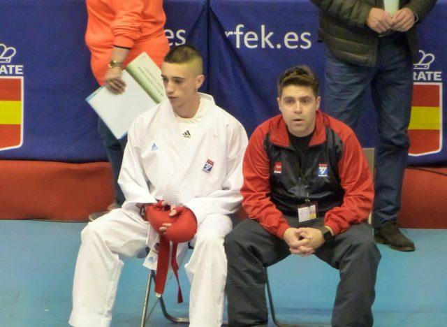 Alberto Moreno Jiménez, Campeón en la final de la Liga Nacional De Karate 2017