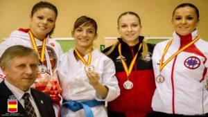 Sandra Sánchez se anota la victoria en la primera jornada de la Liga Nacional de Karate