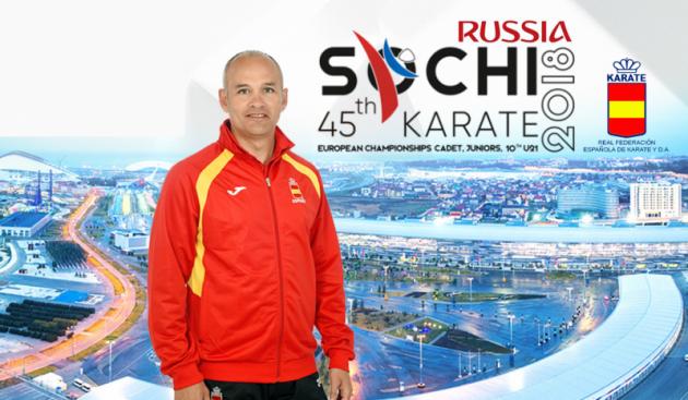 La selección júnior y sub-21 de kárate se concentra en Madrid este jueves para preparar la cita continental de Rusia