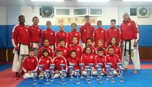 Los karatecas aguileños brillan en el Campeonato Regional