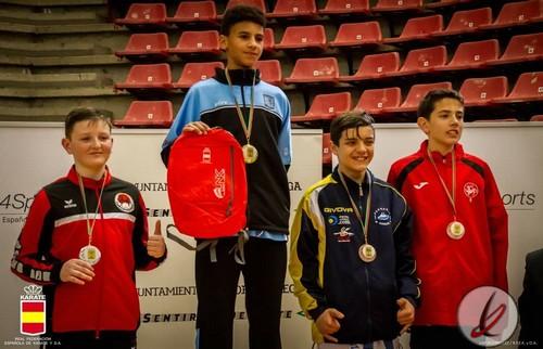 Asier Lora obtiene un bronce en la primera fase de la Liga Nacional de Karate 0 (0)