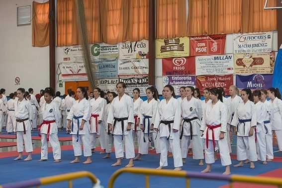 El Circuito provincial de Kárate llega el sábado a Frigiliana