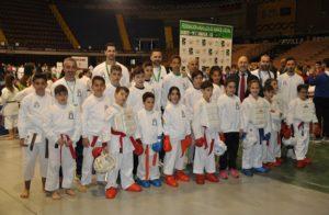Metales para el kárate cordobés en el campeonato de Andalucía