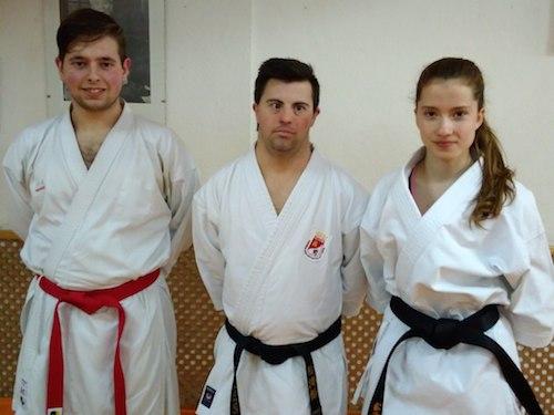 El Gimnasio Ángel presenta tres deportistas en los regionales de Valladolid