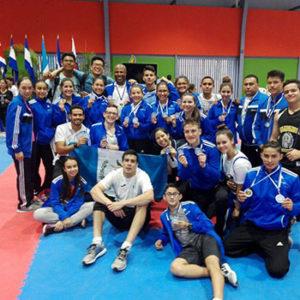 Guatemala, el país campeón centroamericano de Karate 2018