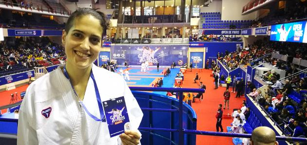 Ruth Lorenzo, del San Francisco de Teo, cae en segunda ronda en París
