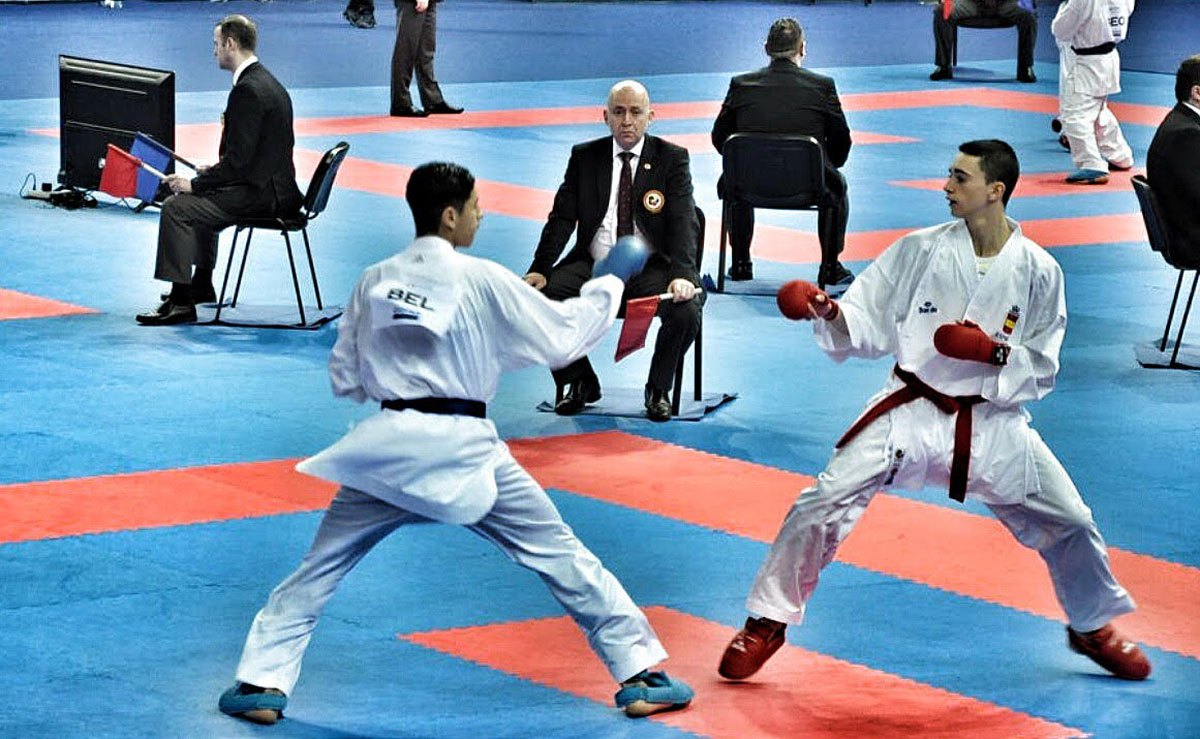 El parleño Alberto Moreno Jiménez, bronce en el Europeo de Karate
