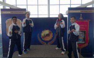 Salmantinos clasifican al nacional de Karate 2018