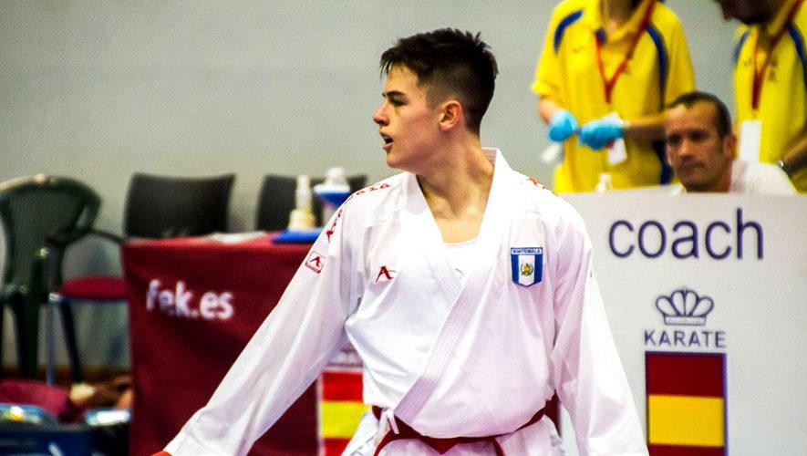Christian Wever representará a Guatemala en el Dubai Open de Karate 2018