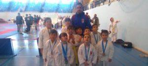 Siete medallas para los karatecas de Elche en el Torneo de Invierno