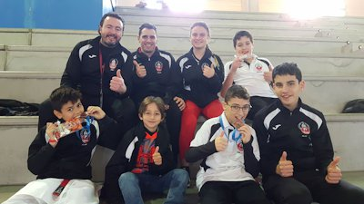 El Club de Karate Altamira en la Final de la Liga Autonómica de Karate