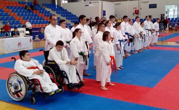 Trece medallas para Valladolid en el regional sénior