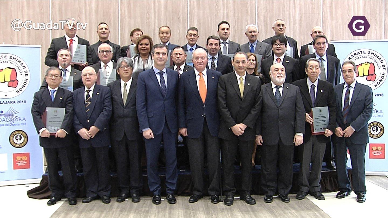 El Rey Juan Carlos preside la entrega de los premios Shihan de honor
