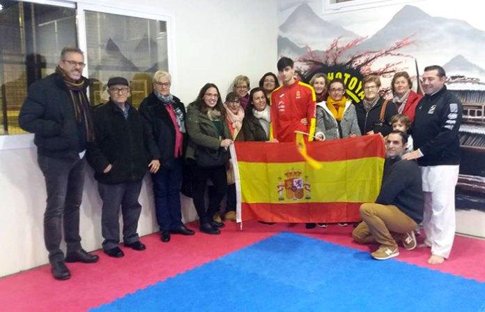 El Club Shotoyama recibe a su campeón, Antonio Ángel Álvarez, 4º de Europa