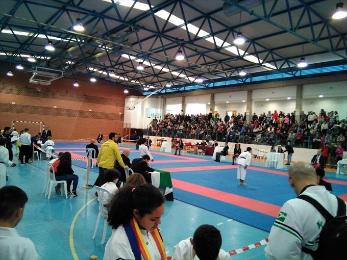 160 karatecas compiten en el regional de menores