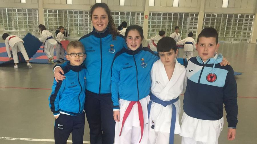 Cinco deportistas del Akai Ryu de Negreira estarán en el Campeonato de España de kárate 0 (0)